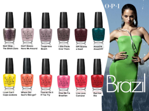 OPI Brazil Collection by Mylittlebeaute