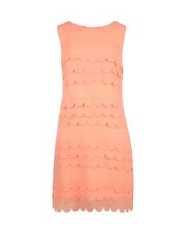 PRISCIL Tiered scallop edge dress Ted Baker £159