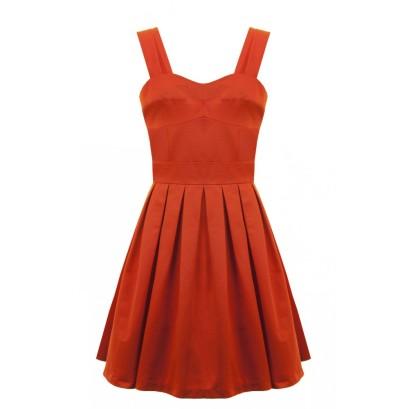 Robe rouge Ottoman 159€